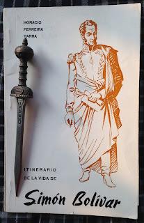 Portada del libro Itinerario de la vida de Simón Bolívar, de Horacio Ferreira Parra