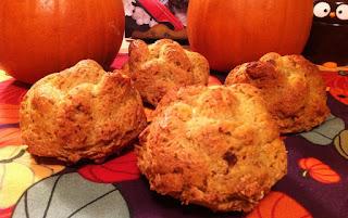 vegan pumpkin challah rolls