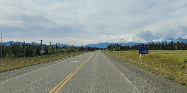 Alaska Highway YT Beaver Creek