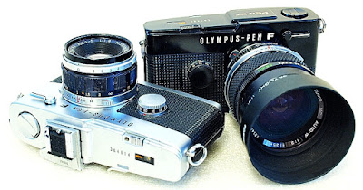 Olympus Pen FT, Chrome and Black