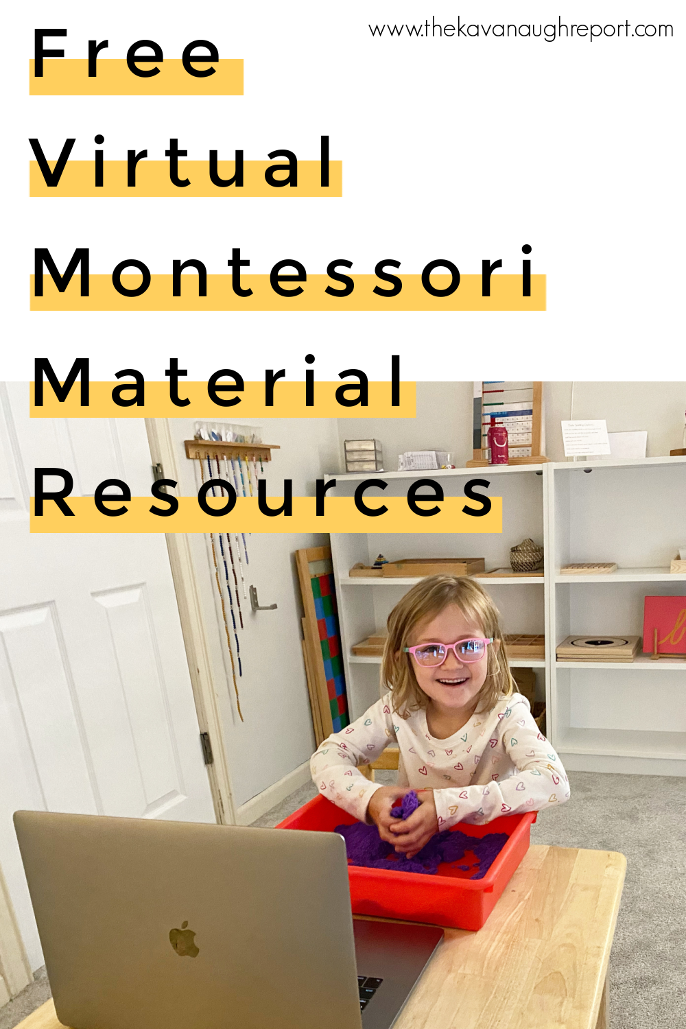 A collection of virtual Montessori materials to support distance learning and homeschooling using Montessori.