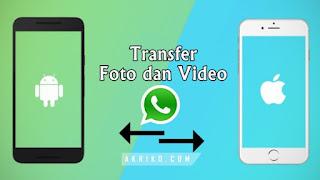 Cara Mudah Kirim Foto dan Video dari Android ke iPhone atau Sebaliknya