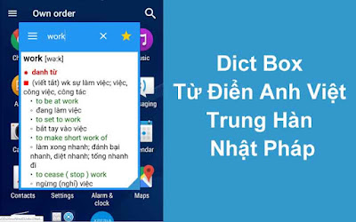 Dict Box – Từ Điển Anh Việt Trung Hàn Nhật Pháp v7.3.7