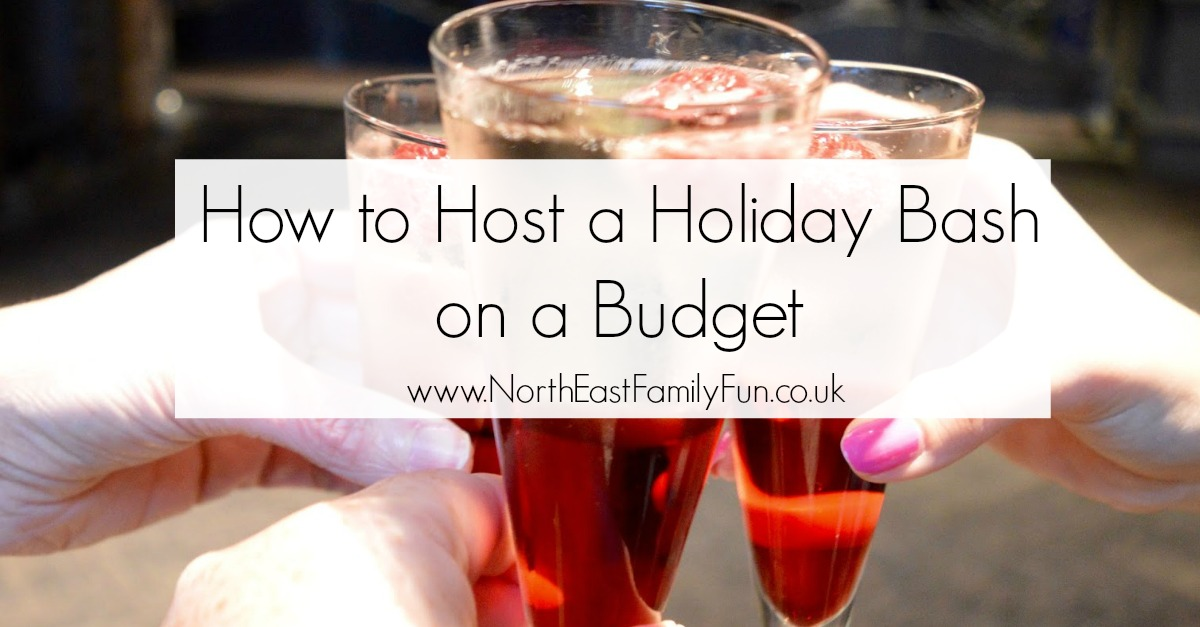 How to Host a Holiday Bash or Christmas party on a Budget