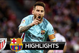 Cuplikan Gol Athletic Bilbao vs Barcelona 0-2