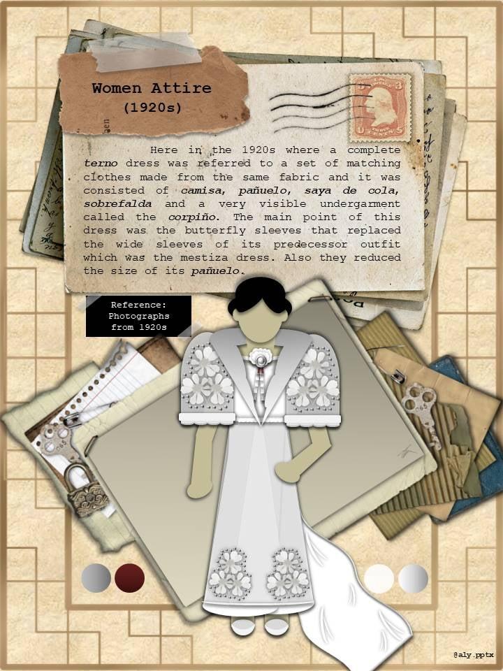 The Terno Filipina women attire