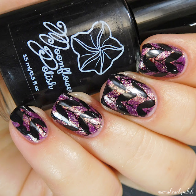orly-oui-moonflower-polish-noche-dixie-plates-dp02-nail-stamping-art-2