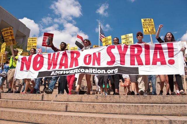 Biden bombs Syria -- Demand U.S. out of the Middle East!