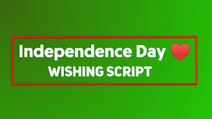 Happy Independence Day Blogger Wishing Script - Responsive Blogger Template