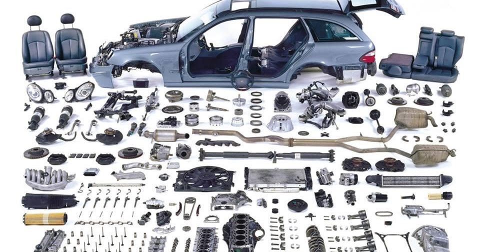 Mechanical Engineering  Exploded View Of Car