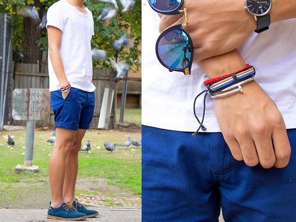 Macho Moda - Blog de Moda Masculina  Como usar Tênis ou Sapato Azul  Masculino 180d1aff6b2cb