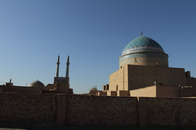 The top of Yazd's Mosques