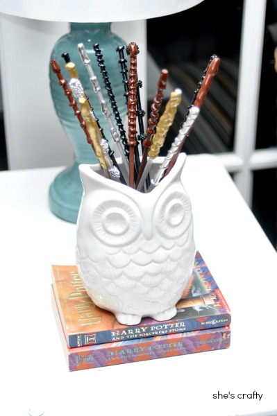 harry potter party - how to make DIY Harry Potter Magic Wands