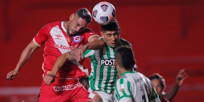 Al límite: Atlético Nacional perdió en su visita a Argentinos Juniors y quedó ad portas de la eliminación en la Libertadores