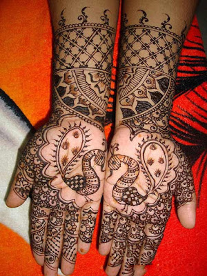 mehndi designs for full hands for marriage