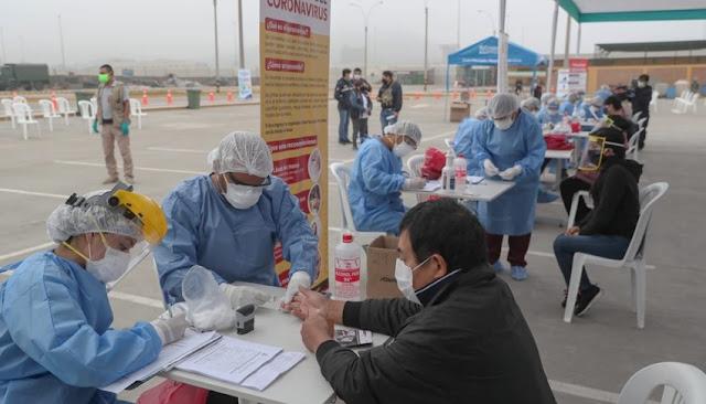 Infectados Covid-19 en Lima