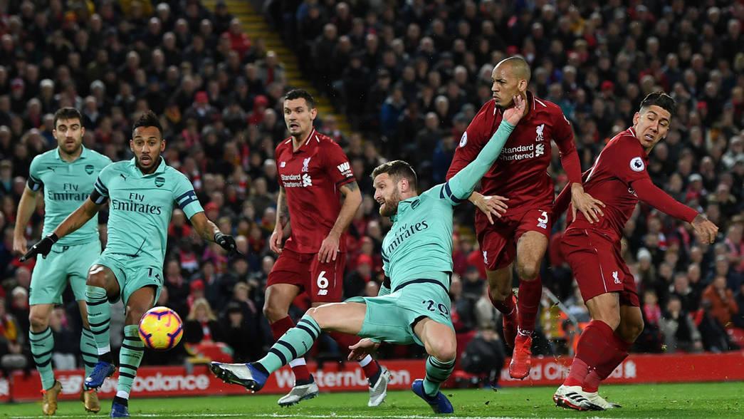 Ливерпуль - Арсенал 1.10.2020 смотреть онлайн