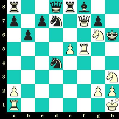 Les Blancs jouent et matent en 2 coups - Wilhelm Steinitz vs Herbert Trenchard, Vienne, 1898