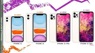 4 model iPhone 12