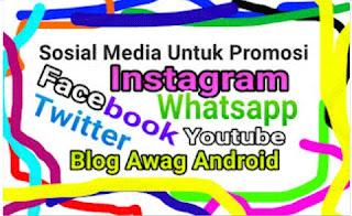 Jenis Media Sosial Yang Sering Digunakan Untuk Promosi
