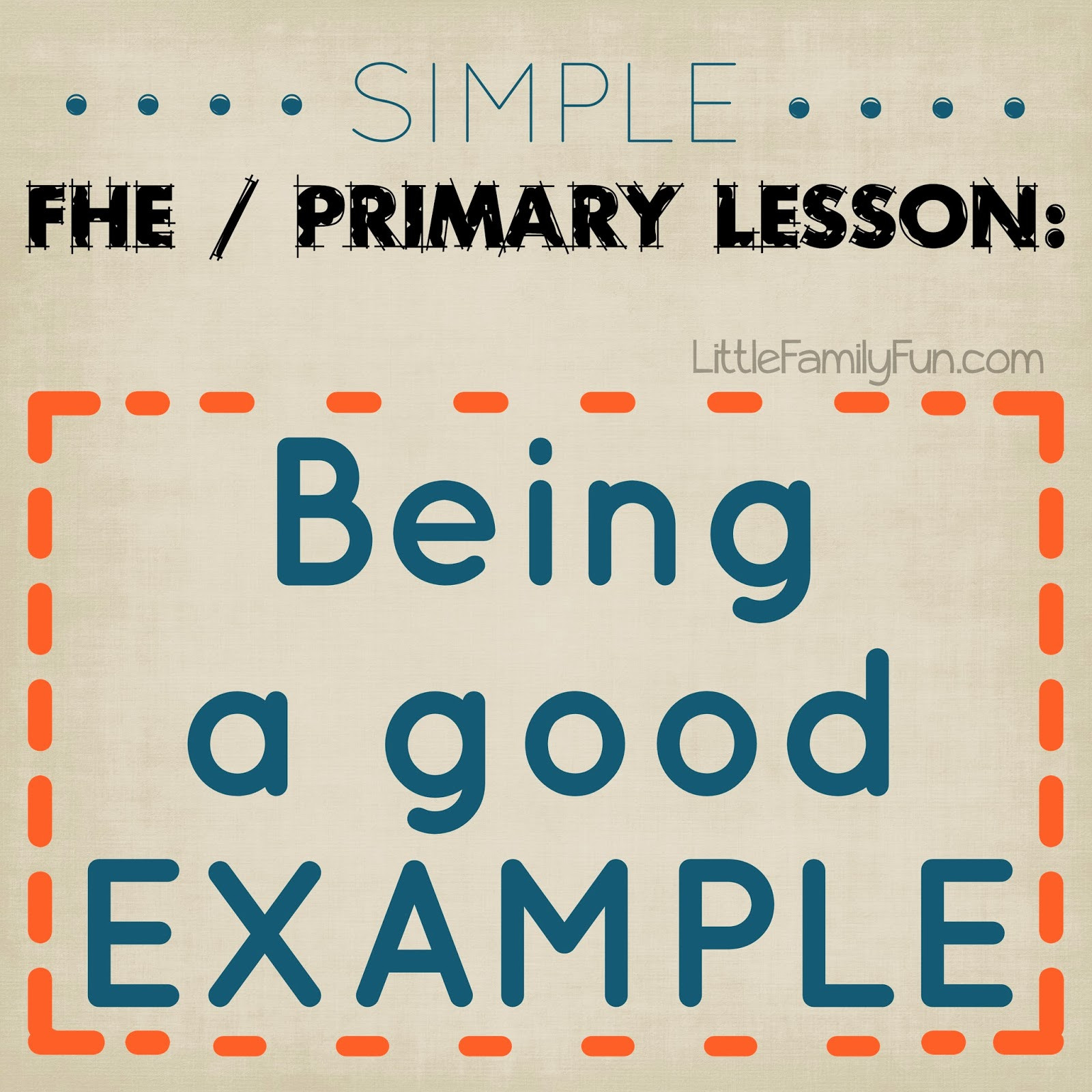 fhe be a good example