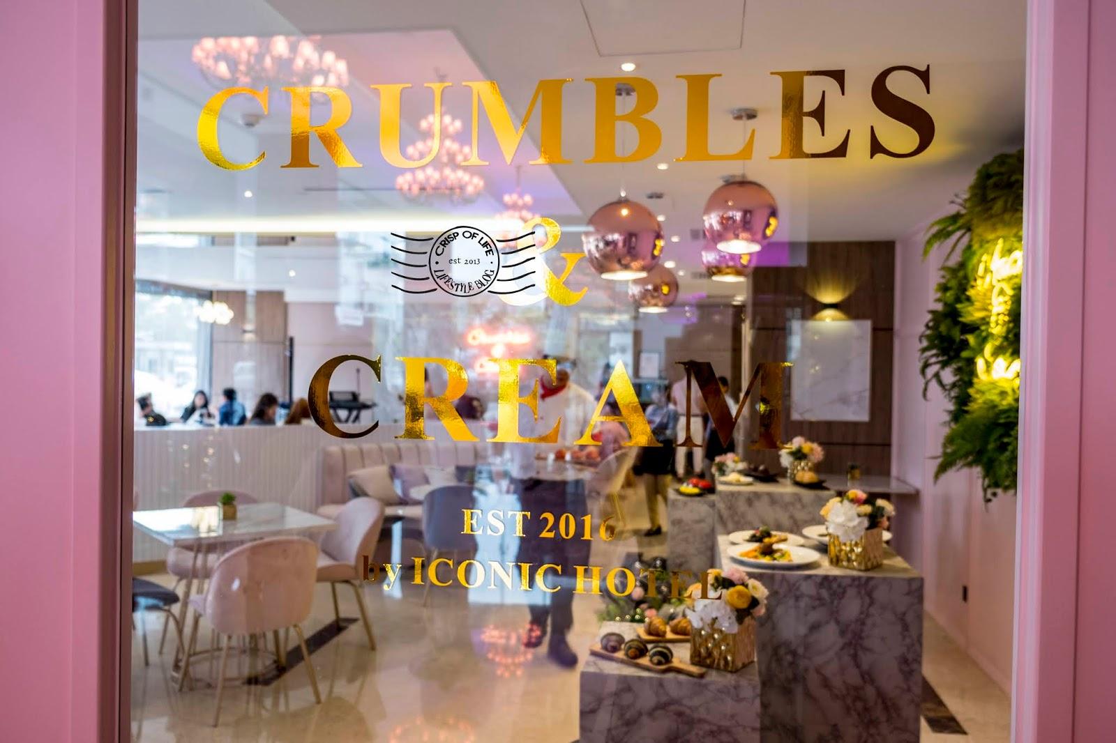 Crumbles & Cream Gets a Facelift