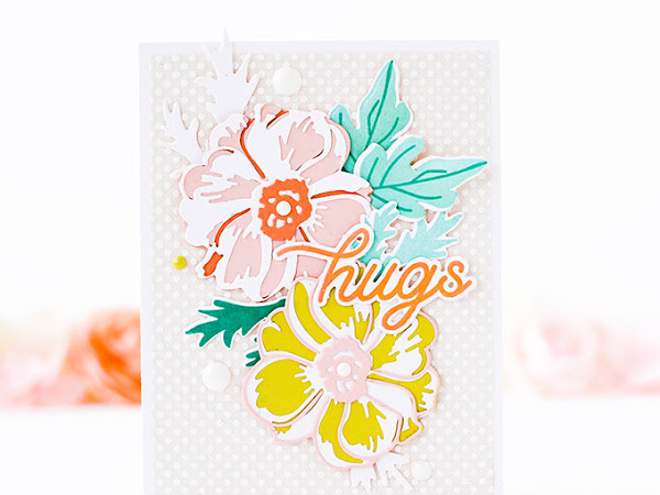Hugs - Cardmaking with Layering Dies and Vellum Adhesive Tips | The Stamp Market