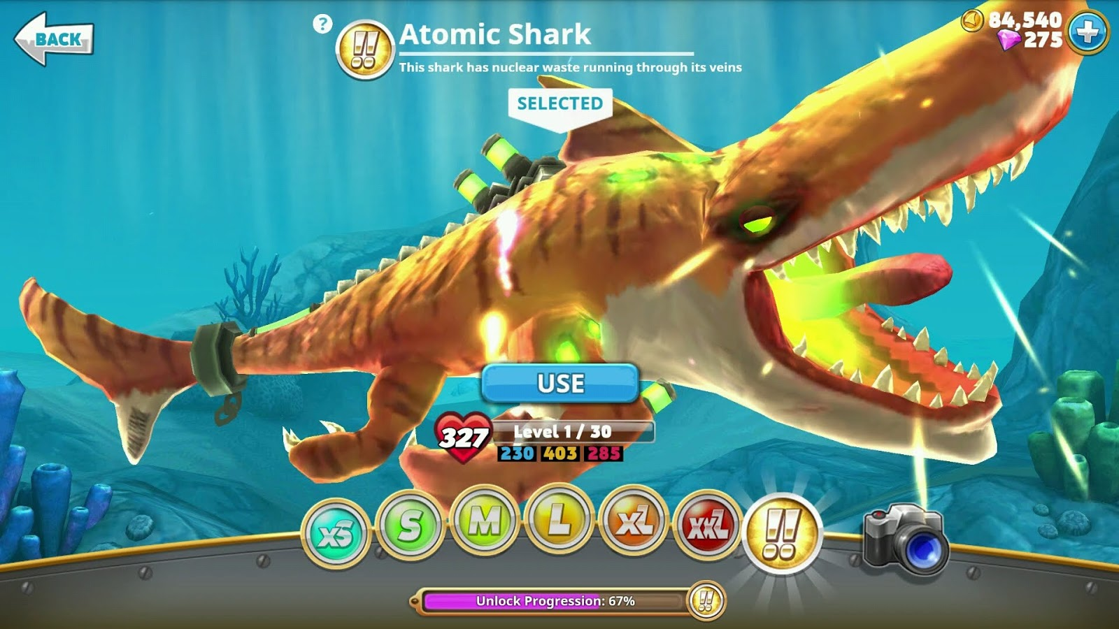 Download Game Hungry Shark World Mod New Version