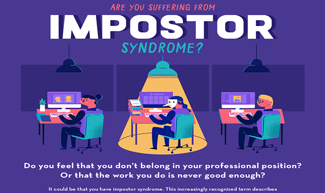 Are You Suffering From Impostor Syndrome? #infographic