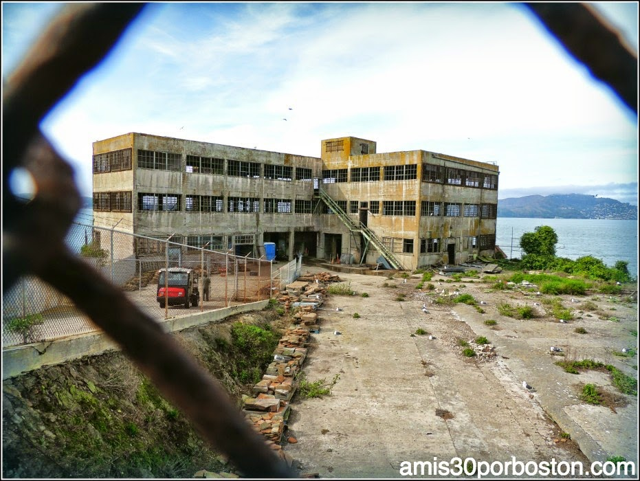 La Prisión de Alcatraz: Lavandería