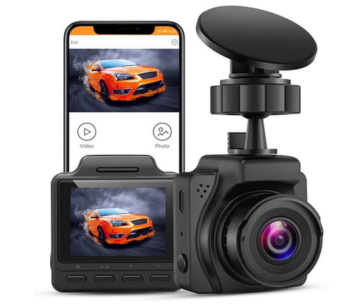 Blueskysea B2K UHD 4K Small Dashcam for Cars