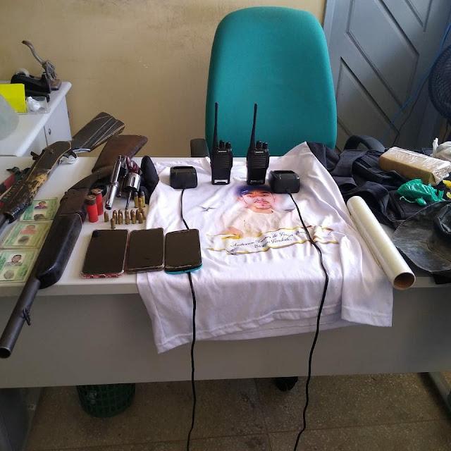 Polícia Civil prende suspeitos de roubo a propriedades rurais e apreende armas de fogo no interior do RN