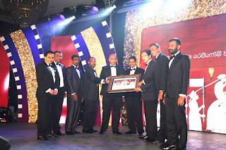 Presentation of the 50 years plaque to Managing Director Mr. Sunil Liyanage