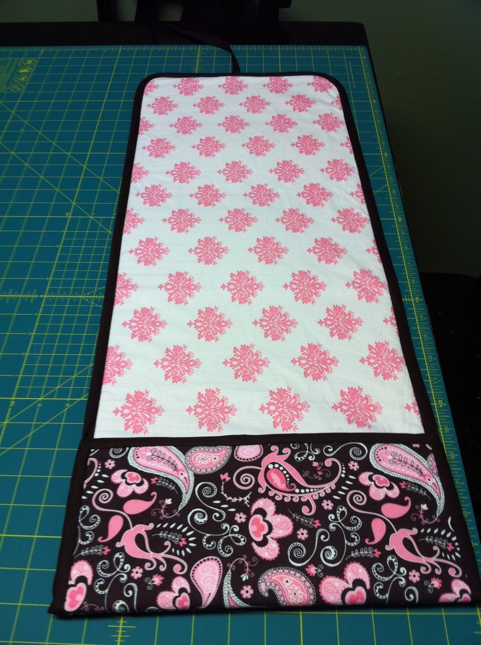 Spicy Pinecone Changing Pad With Pocket Tutorial