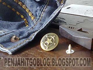 Cara Mudah Mengganti Kancing Celana Jeanstutorial Menjahit Lengkap