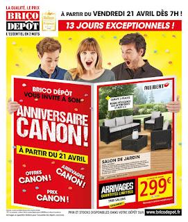 Catalogue Brico Dépôt 21 Avril au 4 Mai 2017