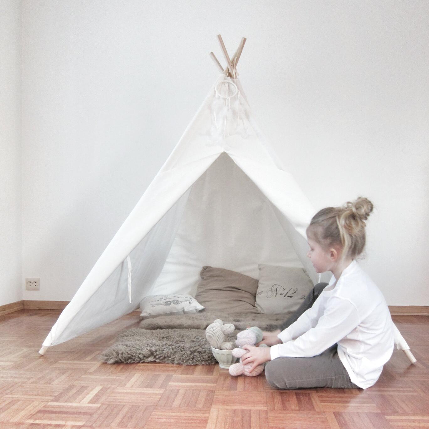Barnerom Tipi: Tipi barneseng barnerom soverom. Jox details leketelt tipi gr? telt.