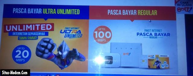 Inilah Promo Harga Paket Bolt Ultra Unlimited Khusus Pascabayar