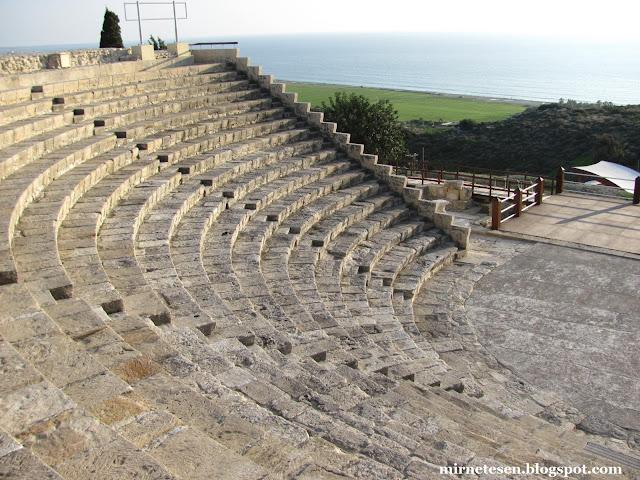 Курион - греческий амфитеатр