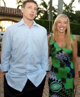 Denika Kisty with her husband Jason Williams