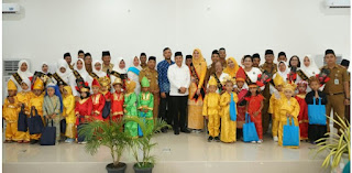 Ny. Maya Indriasari Zahir Lantik Bunda Paud Desa