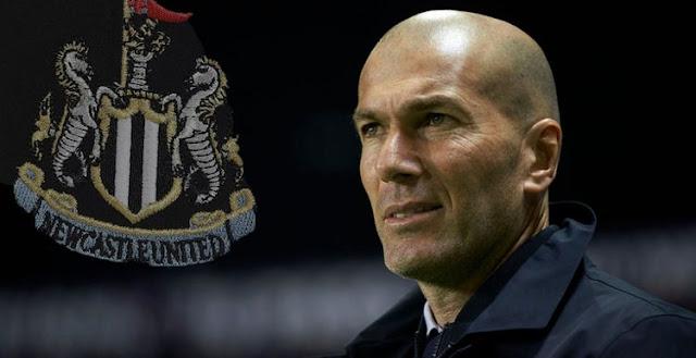 Zinedine Zidane Tangani Newcastle United ?