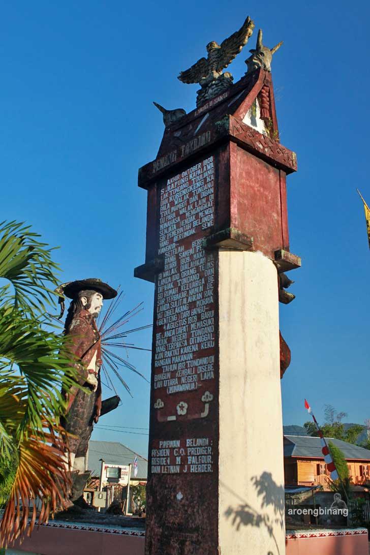 patung sarapung korengkeng tondano minahasa sulawesi utara