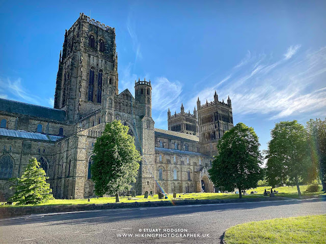 Durham City river walk best views cathedral route map