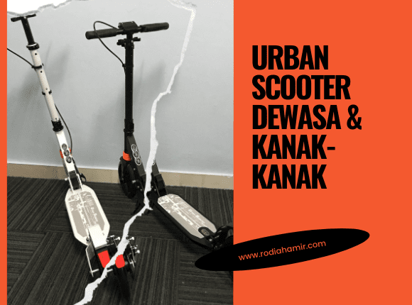Urban scooter for kid & adult