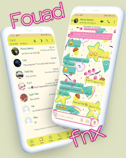 Star & Fruits Theme For YOWhatsApp & Fouad WhatsApp By Ave fénix