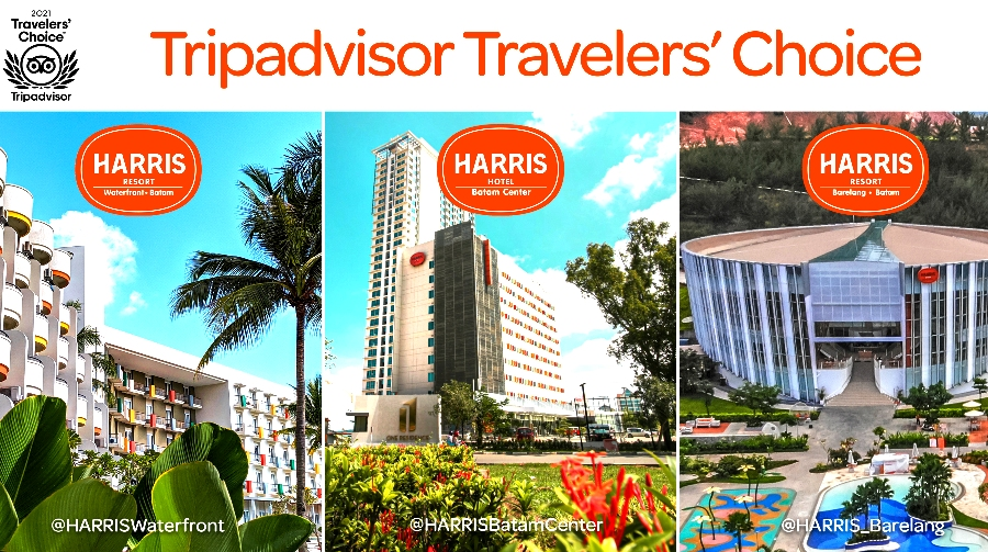 Tauzia Hotels Kembali Dapat Penghargaan Travelers' Choice Awards
