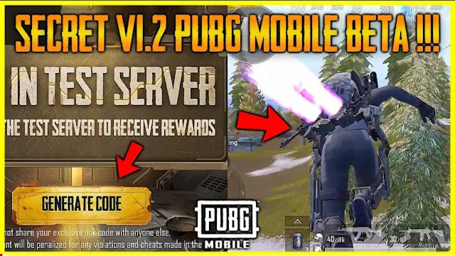 How to get PUBG Mobile 1.2 Beta test server invitation code