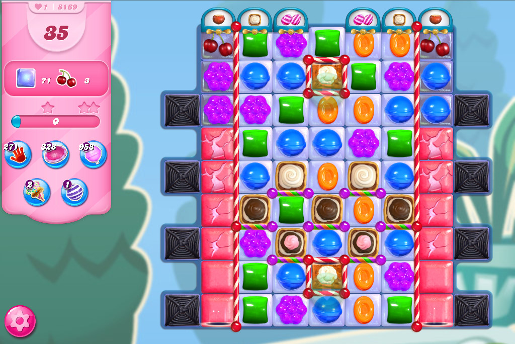 Candy Crush Saga level 8169
