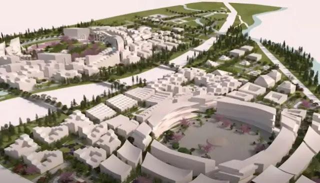 Toyota Mulai Membangun Kota Cerdas Pertama